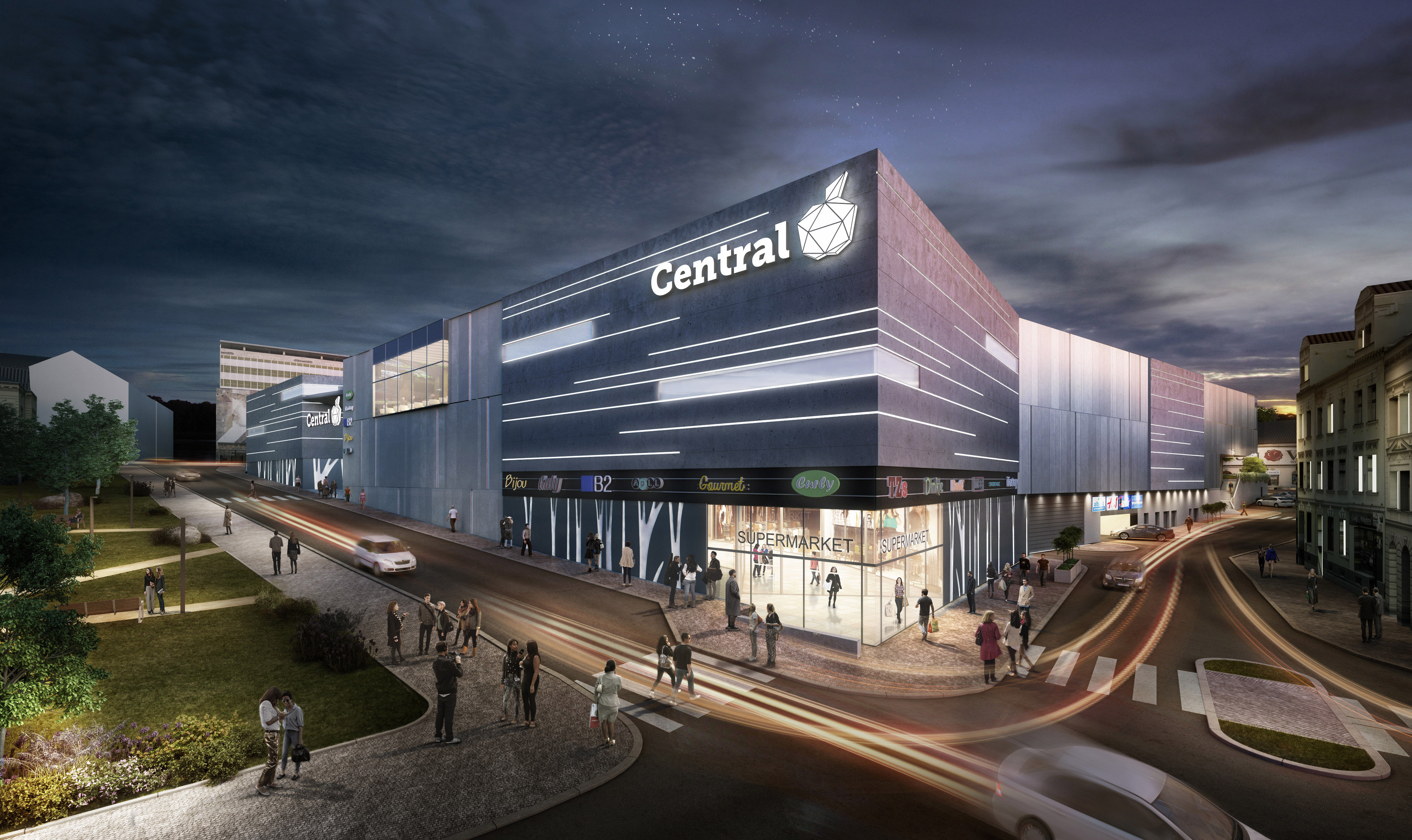 OC Central Jablonec Arch.Design
