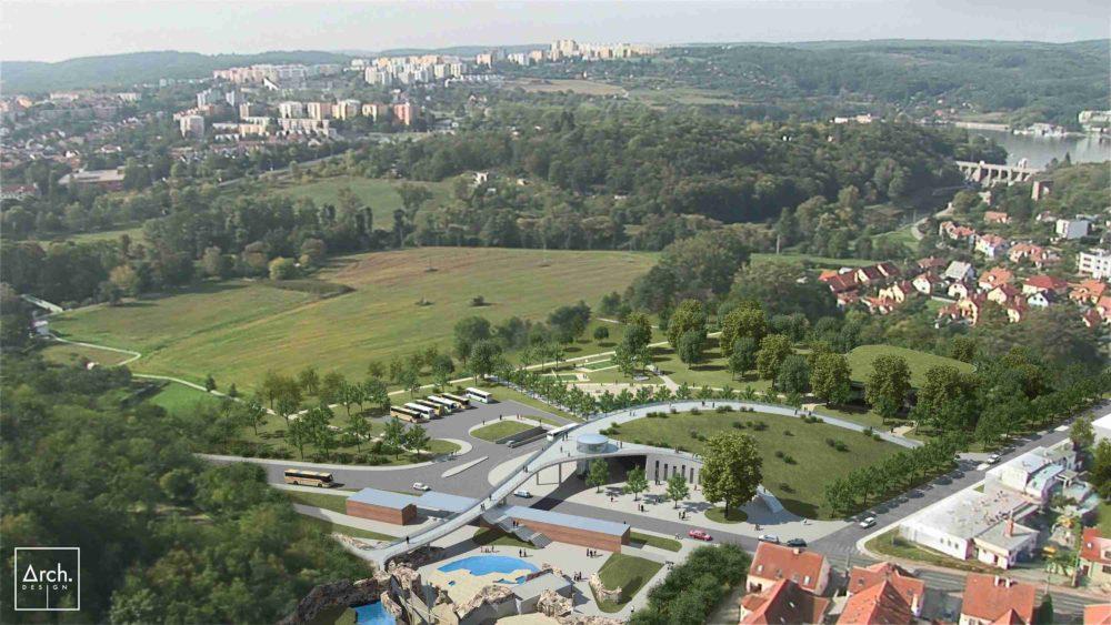 ZOO Brno_studie nového vstupního areálu, Arch.Design