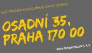 Nová adresa Arch.Design project a.s.