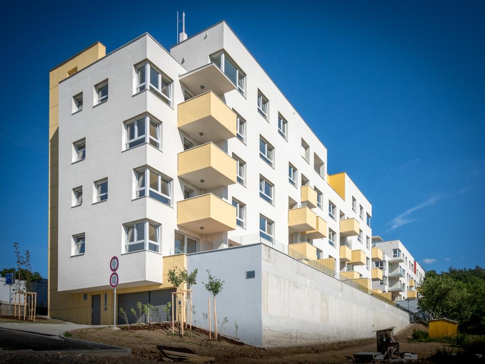 Bytové domy Brno Došlíkova