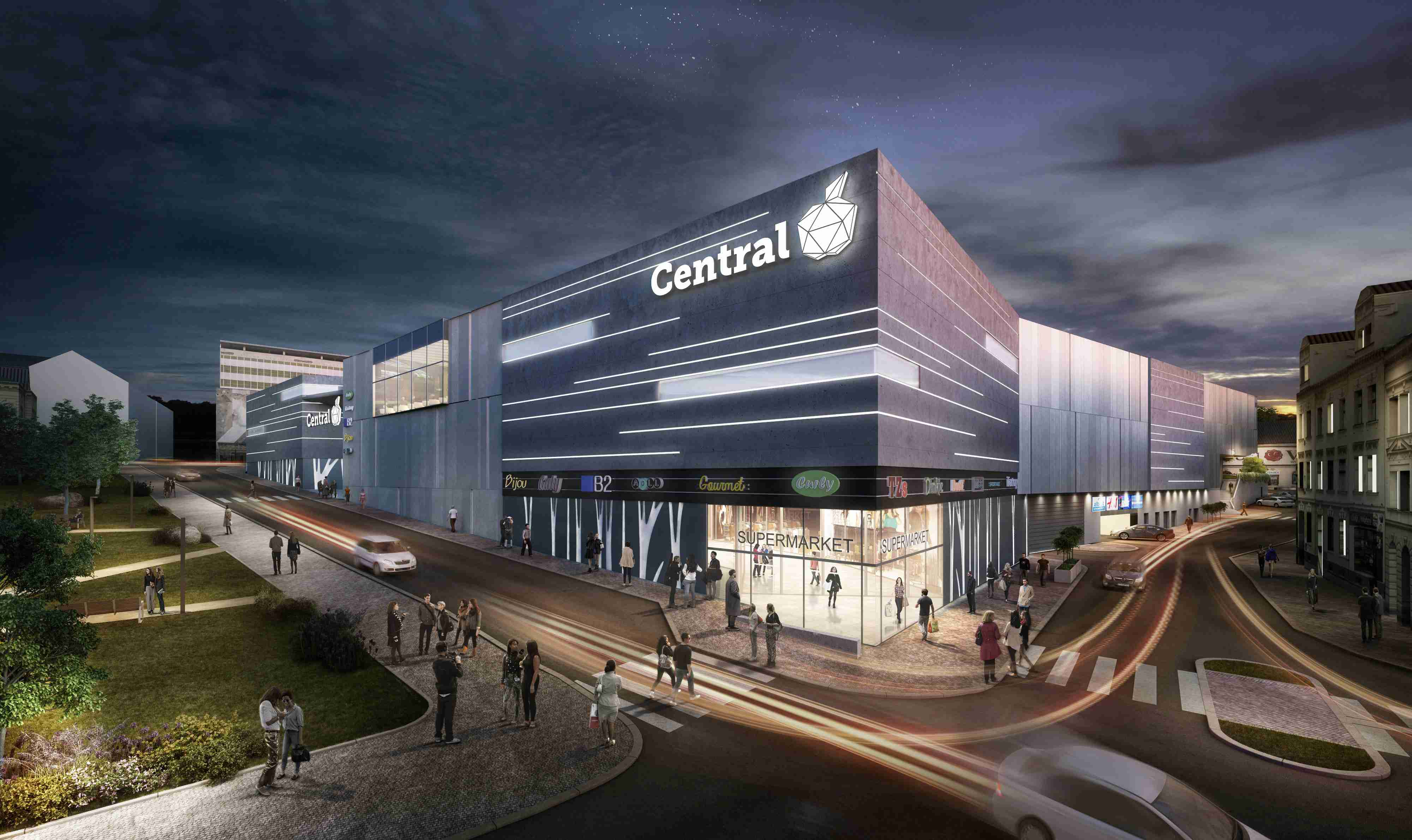 2818666edb The Central Jablonec shopping centre with timeless architecture was ...