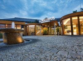 pohled na hotel Maximus Resort