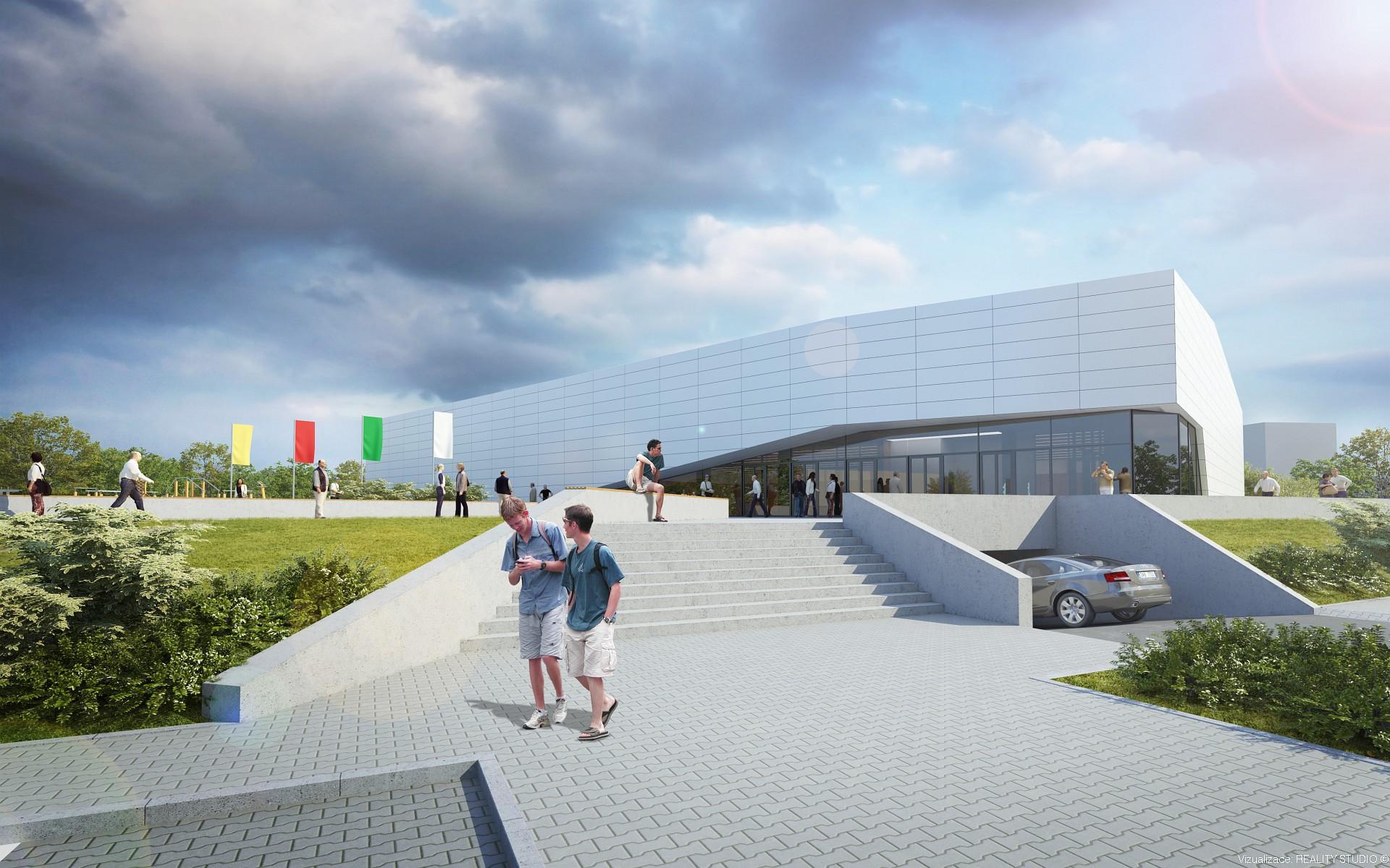 Sportovní hala Krystal, Arch.Design