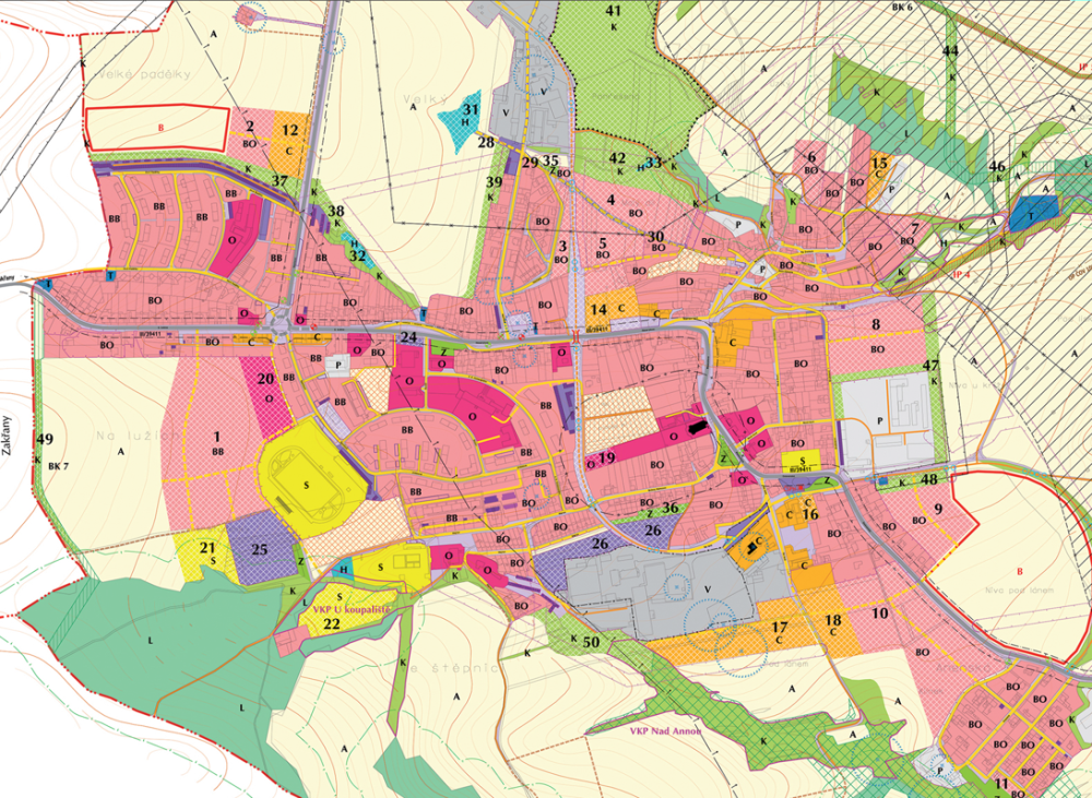 zbýšov_změna územního plánu